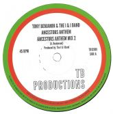 Tony Benjamin & The I & I Band - Ancestors Anthem / Mix 2 / Version (TB Productions) 12""